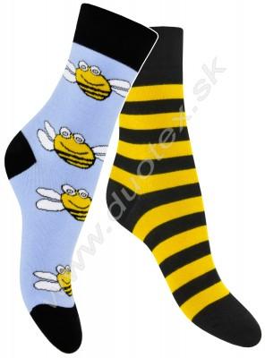 Pánske ponožky Skarpol-080-vcela