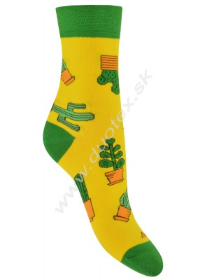 Ponožky Skarpol-080-kaktus