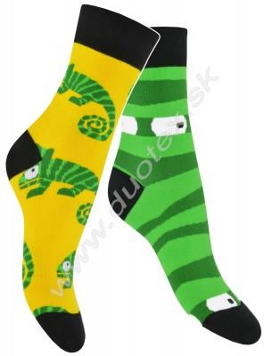 Pánske ponožky Skarpol-080-chameleon