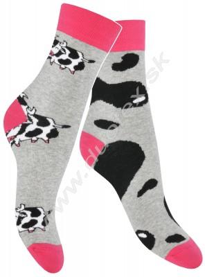 Pánske ponožky Skarpol-080-krava