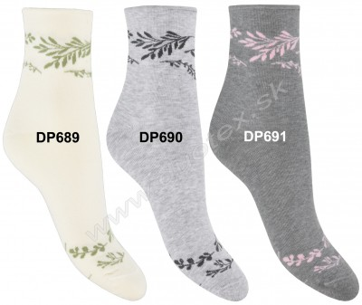 Vzorované ponožky Steven-099-689