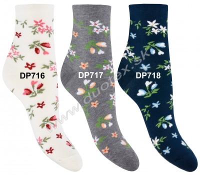 Vzorované ponožky Steven-099-716