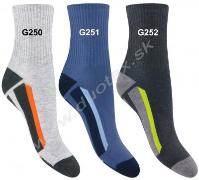 Vzorované ponožky Steven-060-250