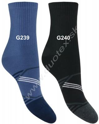 Vzorované ponožky Steven-060-239
