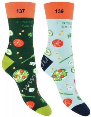 Vzorované ponožky More-078-137