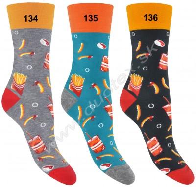 Vzorované ponožky More-078-134