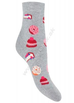 Dámske ponožky w84.01p-vz.244