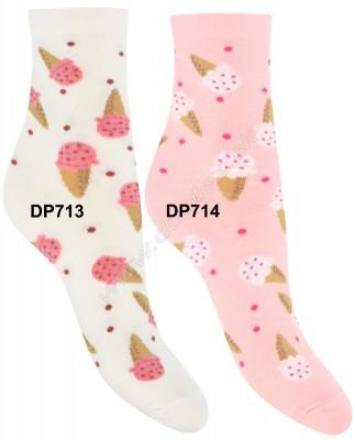 Vzorované ponožky Steven-099-713