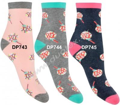 Vzorované ponožky Steven-099-743