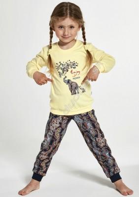 Dievčenské pyžamo Cornette592-Elephants