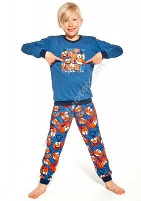 Chlapčenské pyžamo Cornette976-Pumpkin