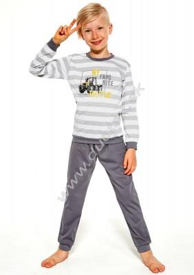 Chlapčenské pyžamo Cornette478-Tractor