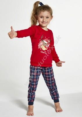 Dievčenské pyžamo Cornette594-Reindeer