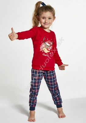 Dievčenské pyžamo Cornette592-Reindeer