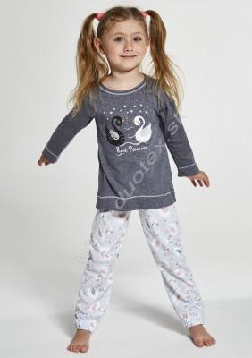 Dievčenské pyžamo Cornette379-Swan