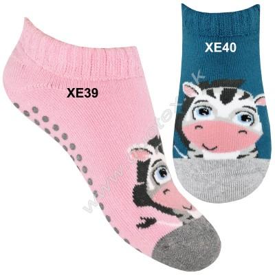 Froté ponožky s ABS Steven-134-39