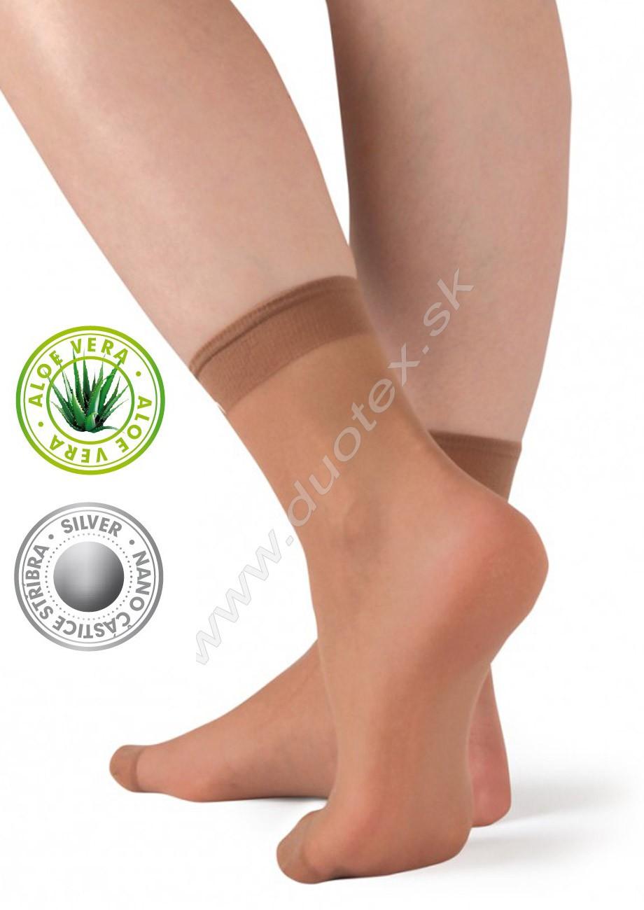 Dámske ponožky Silver-pon