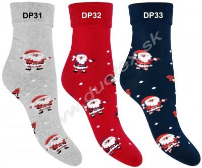 Vianočné froté ponožky Steven-030-31