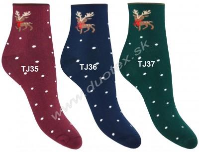 Zimné ponožky Steven-123-35