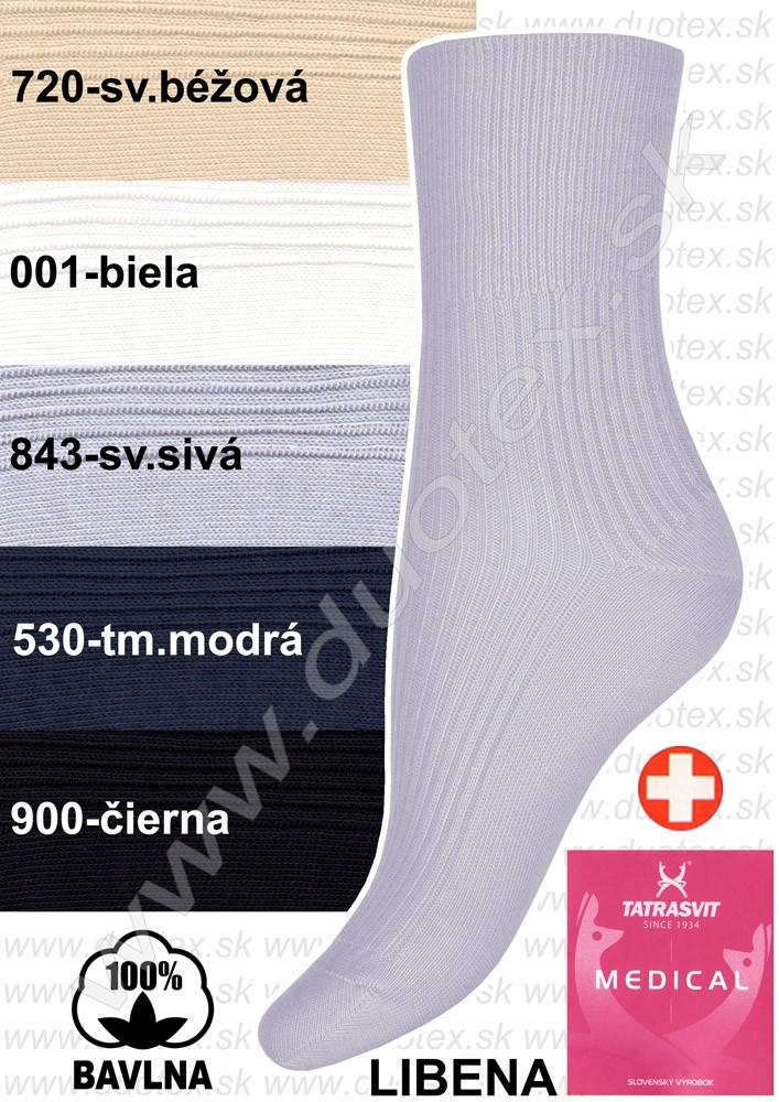 Zdravotné ponožky Libena