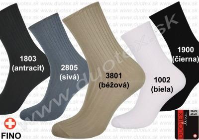 Zdravotné ponožky Fino