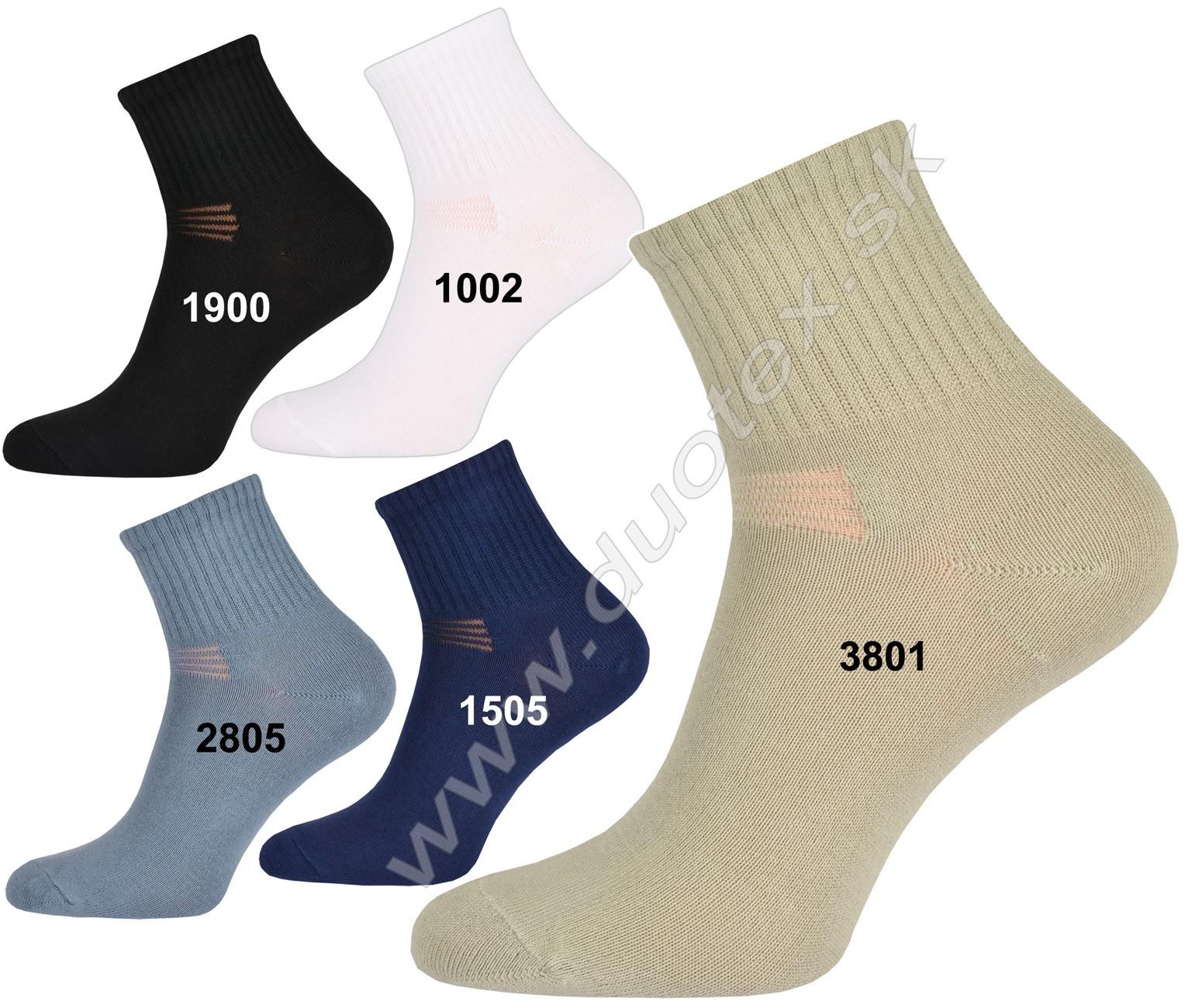Bavlnené ponožky Rikona