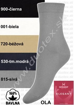 Bavlnené ponožky Ola