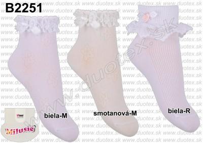 Detské ponožky B2251