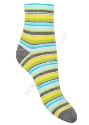 Dámske ponožky Stripa-8
