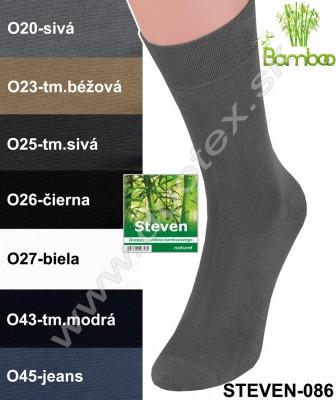 Bambusové ponožky Steven-086