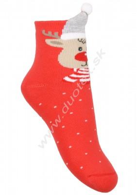 Froté ponožky Steven-096-2