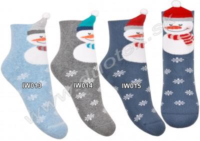 Vianočné ponožky Steven-154-3