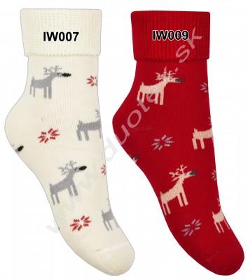 Vianočné ponožky Steven-154-2