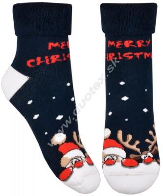 Vianočné ponožky Steven-096-3