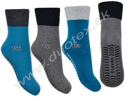 Ponožky s ABS Steven-038-6