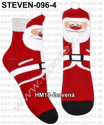 Vianočné ponožky Steven-096-4