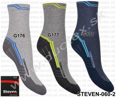 Vzorované ponožky Steven-060-2