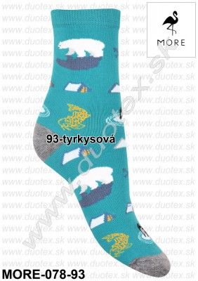 Dámske ponožky More-078-93