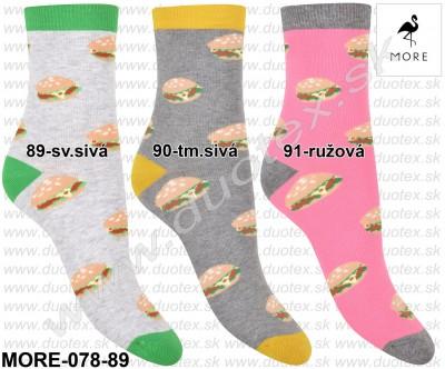 Vzorované ponožky More-078-89