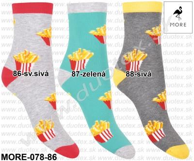 Vzorované ponožky More-078-86