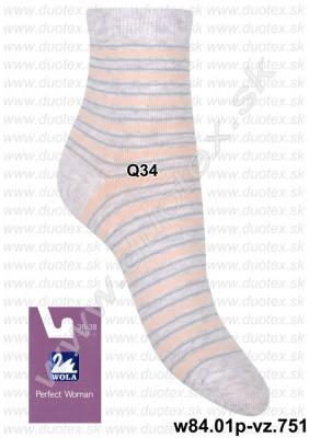 Dámske ponožky w84.01p-vz.751