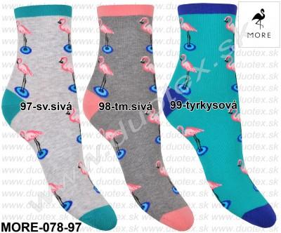 Vzorované ponožky More-078-97