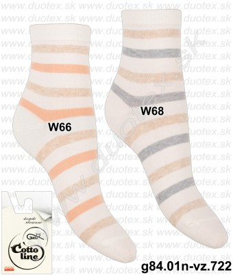 Dámske ponožky g84.01n-vz.722
