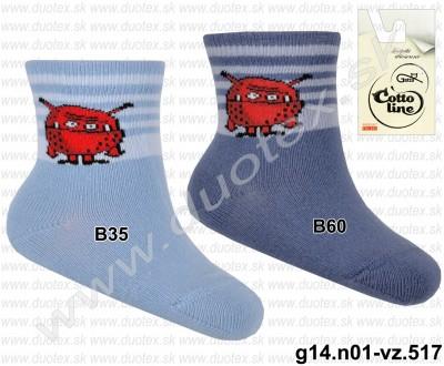 Kojenecké ponožky g14.n01-vz.517