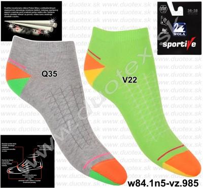 Športové ponožky w84.1n5-vz.985