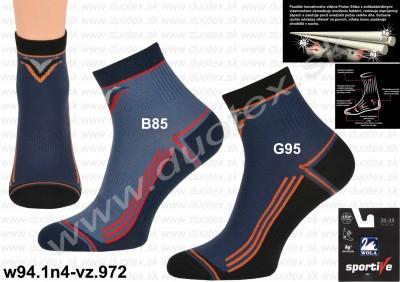 Bavlnené ponožky w94.1n4-vz.972