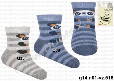 Kojenecké ponožky g14.n01-vz.516