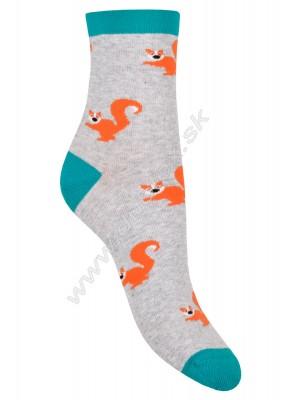 Vzorované ponožky More-078-104