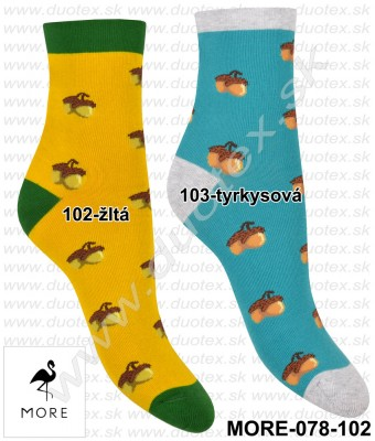Vzorované ponožky More-078-102