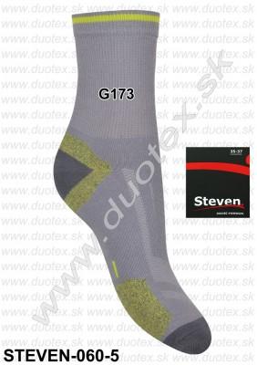 Vzorované ponožky Steven-060-5